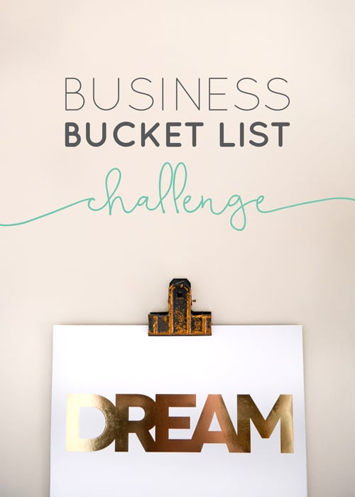 It is time to dream BIG! What do you want to aim your sights on?!  |  Think Creative Collective