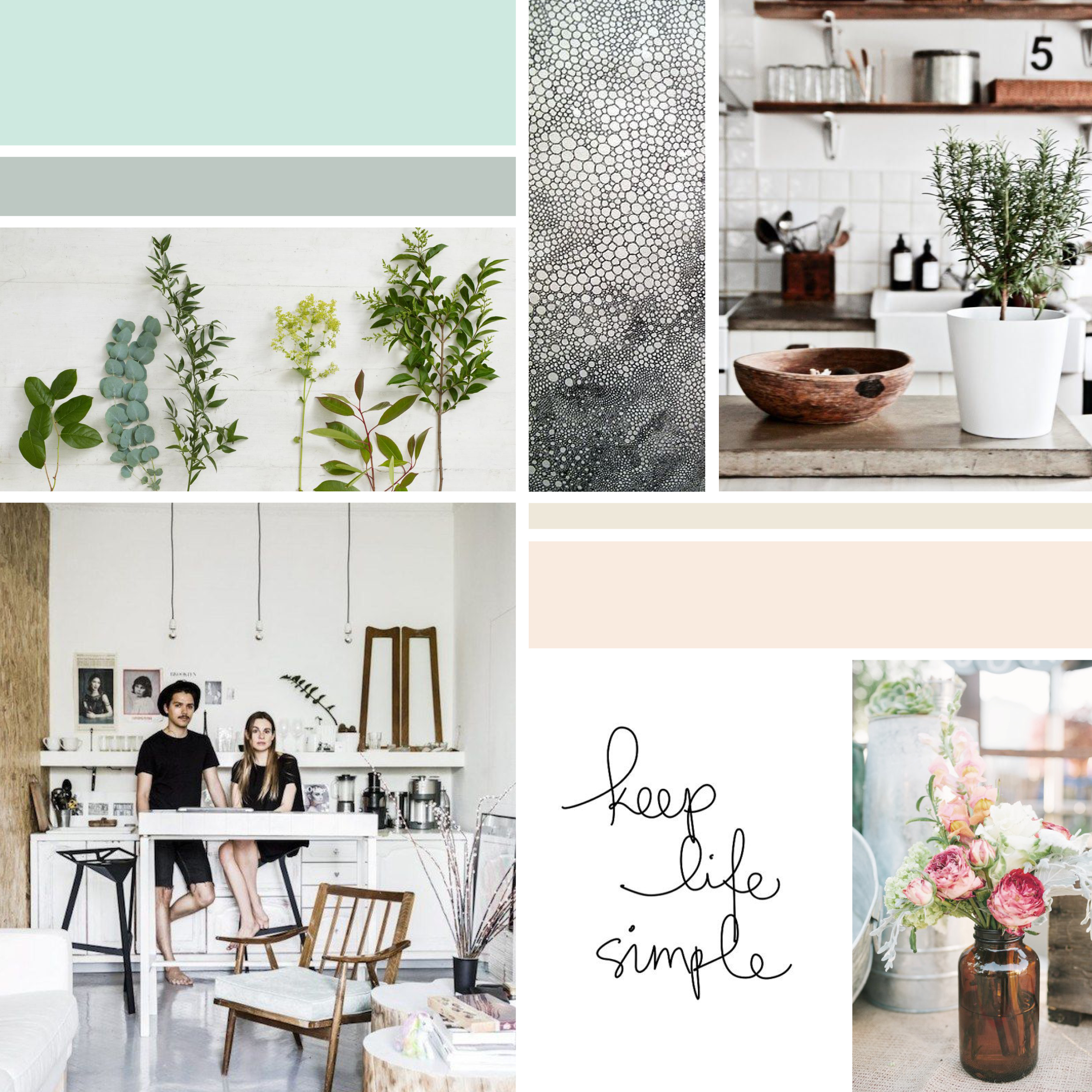 Inspiration Board  |  Think Creative Collective