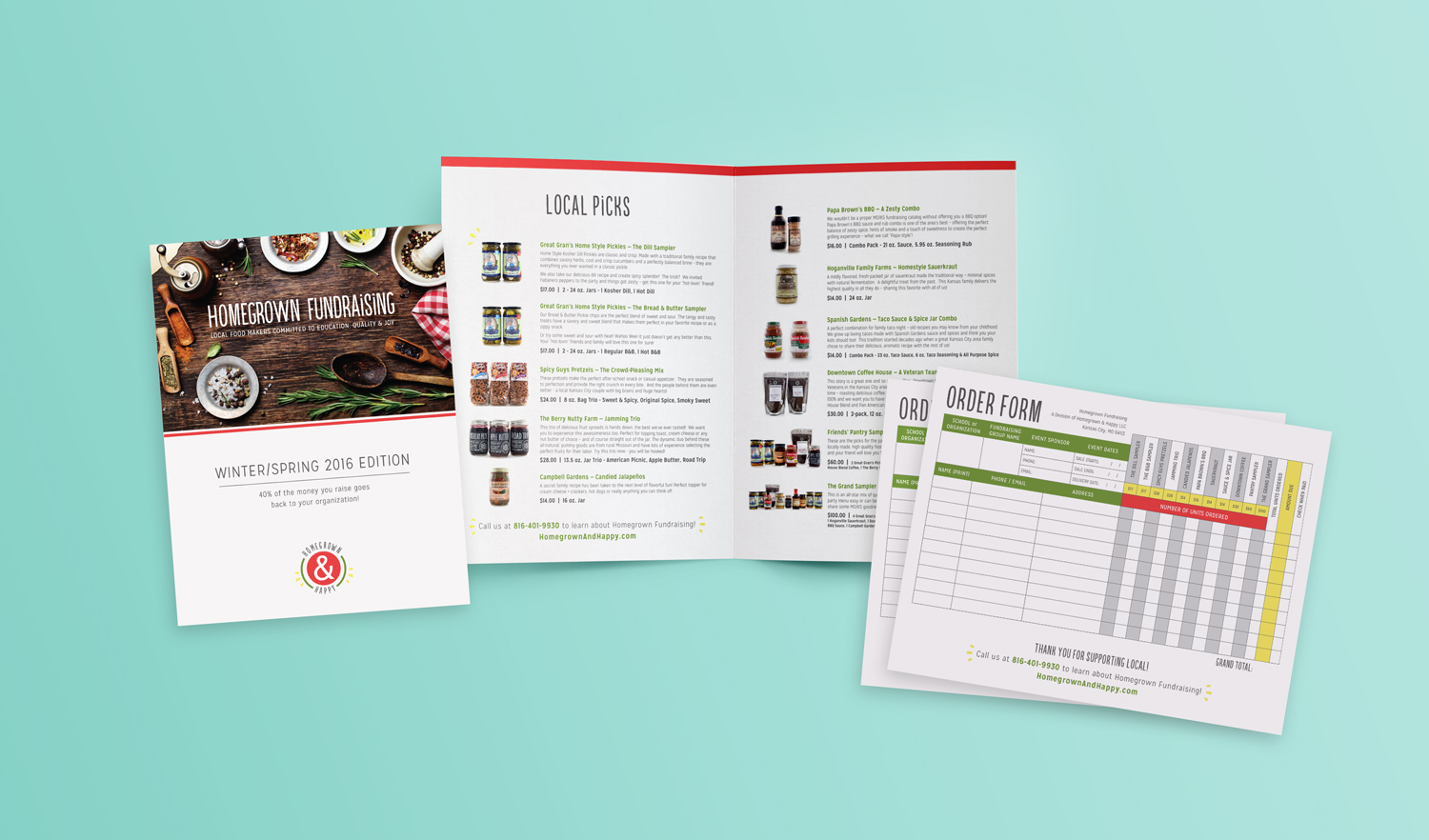 Homegrown & Happy Fundraising Catalog  |  Think Creative Collective