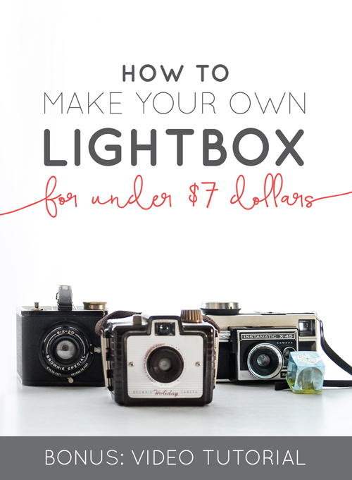 You guys wanted to know how to make lightbox your own so we decided to put together a little video for you that walks you through step-by-step. Having your own diffuser is key to creating white, bright and seamless images. You can shoot small objects inside your own diffuser to post to your Etsy shop, Instagram shots, product images and more.  |  Think Creative Collective