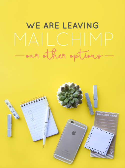 We are leaving Mailchimp! | Think Creative Collective