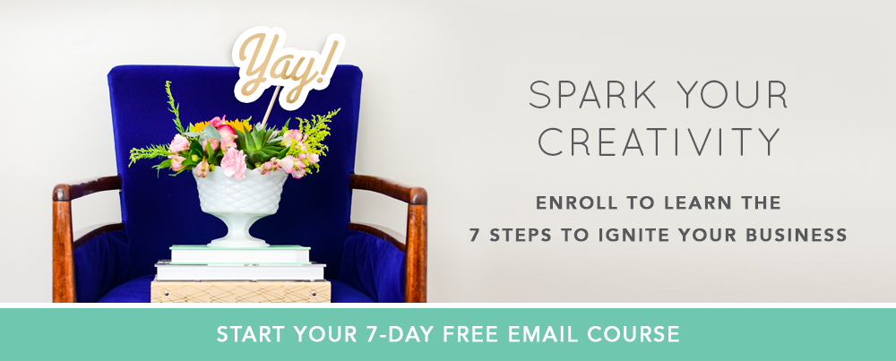 Spark Your Creativity - Enroll to Learn the 7 Steps to Ignite Your Business  |  Think Creative Collective