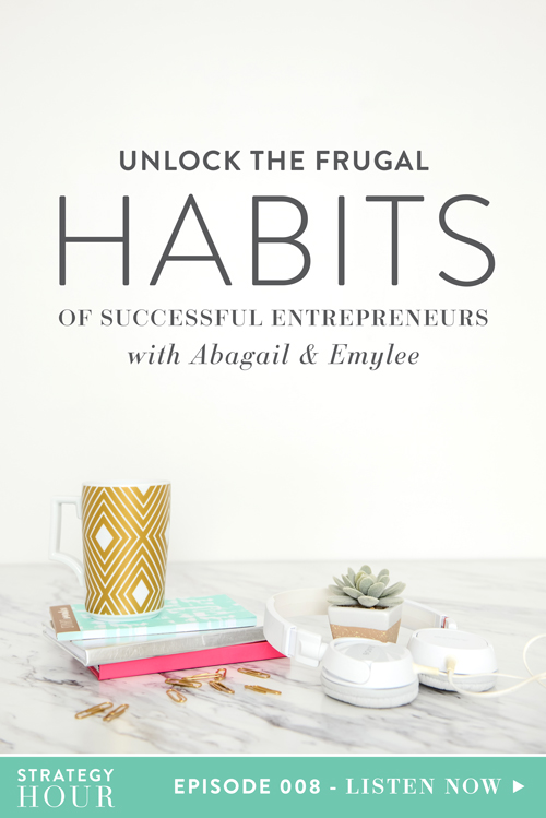 "Looking to be successful, but not sure how to bootstrap your business? Today we're jumping in and talking about frugal habits of successful entrepreneurs. We'll walk you through exactly how we hacked our business until we could hack no more. We're chatting about the exact systems and tools we purchased and when. We're uncovering why it makes sense to invest at certain times in your business. In today's entrepreneurial world, people have a tendency to assume what ""everyone else is doing"" is exactly the same formula they should follow. We think that the only way to be successful is to copy them exactly. We are busting that myth right on out!  