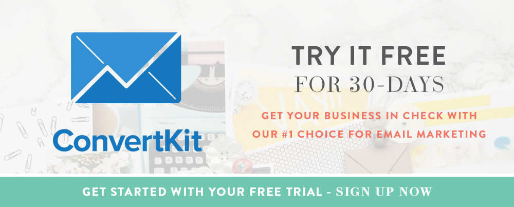 Try ConvertKit 30-Days for Free!