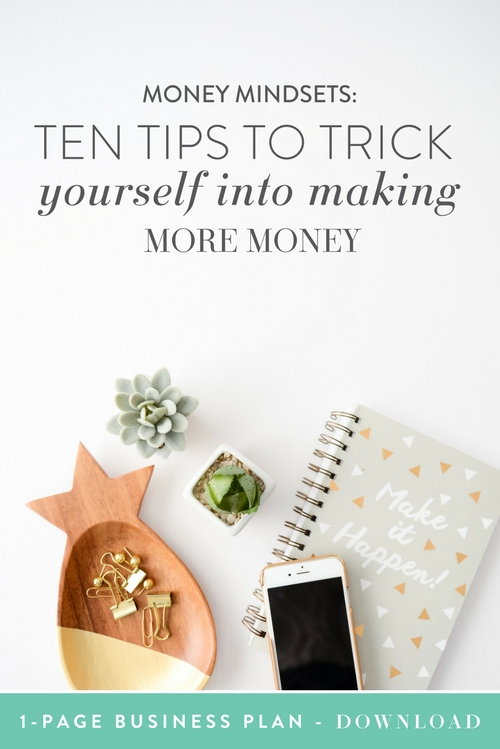 As much as we all want to make a fabulous living while drinking fancy cocktails poolside, as entrepreneurs we don't always have that luxury! The weeks seem to fly by, and late nights and work overload become common.   What if, instead of spending every waking hour of every day with your nose to the grindstone, you could instead trick yourself into making more money? Spoiler: you can! | Think Creative Collective