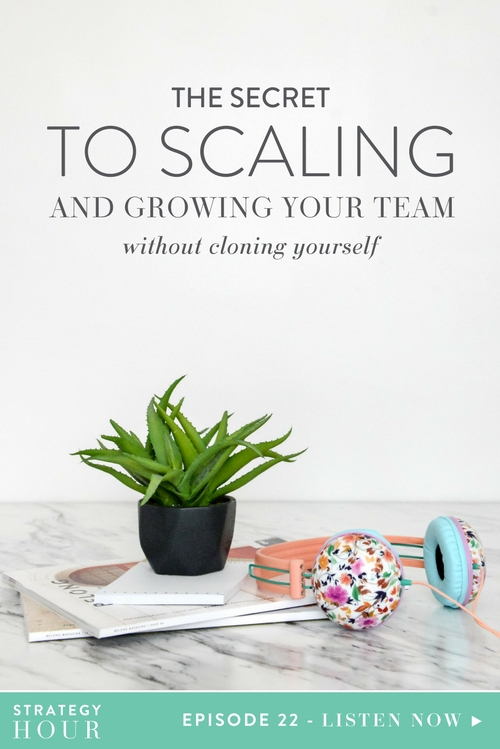 Ever wonder how to go about growing your business and which strategy to pursue? Maybe you feel stuck and you are at the breaking point where something's got to give? Well, today on the podcast we jump into exactly how to scale and grow your team. We tackle all the questions you need to be asking yourself before you even decide whether a team is the right move for you. Because for some of you, a team might not be the answer; it just might be what you think is the answer.  |  Think Creative Collective