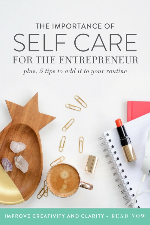 We all know that it can be difficult to work for yourself and that stress and burnout are real concerns. As an entrepreneur, you often have to deal with unusual working hours, time pressures, risk of failure constantly looming, irregular money coming in, and limited social interaction.  The number of new small business owners and entrepreneurs is rising every day, and prioritizing your self care is an integral part of success. Self care is any activity that you do voluntarily which helps you maintain your physical, mental or emotional health. It can help you feel healthy, relaxed and ready to take on your work and responsibilities. Sounds like something we all need, right? But I wonder how many of you are engaging in enough self care to balance out the incredible stress that comes from running your own business.  |  Think Creative Collective