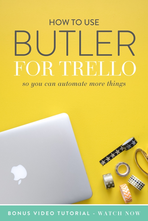 Are you ready to fall even MORE in love with Trello?!  Yes?  Well ok then, buckle up buttercup.  Butler for Trello is legit like a BUTLER for Trello. It makes things more automated and more awesome in general, and really fills a gap that you didn't even know existed.  The basics: You give Butler a command and it does it automatically for you from that point on.  |  Think Creative Collective