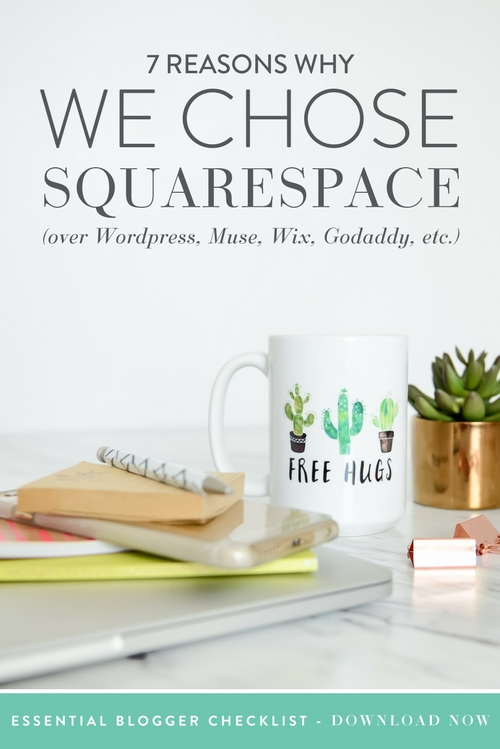 We have been around the block once or twice online and have tried our hand in many platforms, hosting services, and domain providers, but when it came time to rebrand we were stuck. We pondered for months over who or what we should choose, but once we finally made the decision we never looked back! Squarespace is by far the easiest platform to use, with the cleanest interface. Choosing them is hands down the best decision we've made for our business and blog. Here's why…  |  Think Creative Collective