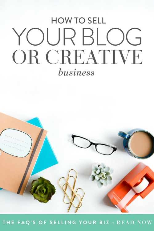 The idea of selling your creative business may seem completely crazy. Maybe you left a corporate job to start your business or maybe it's been a dream that's years in the making. You have passion for your business, and your soul is in every detail.  |  Think Creative Collective