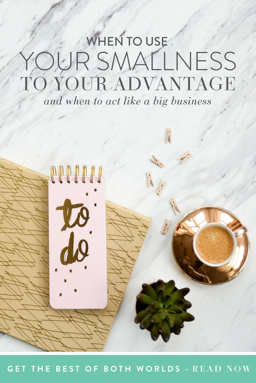 Ever feel like you need to hide that your business is small?  |  Think Creative Collective