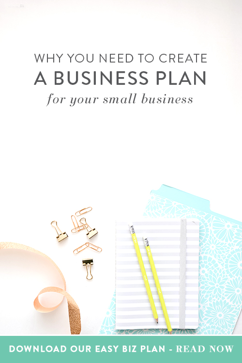 Creating a business plan is one of the best fundamental things you can do to promote success in your business. A business plan will help you stick to, well, your plan for your business. It also helps you think about things you haven't thought about before and things you should know for your business.     Think Creative Collective