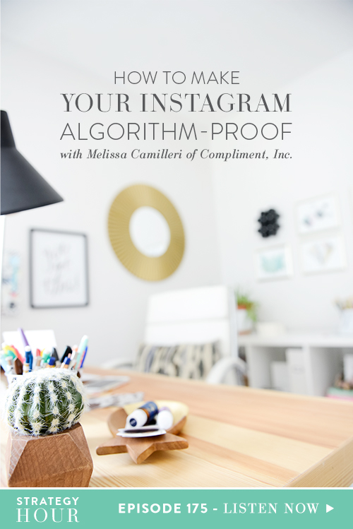 Today on the podcast we have Melisa Camilleri of Compliment Inc. Melissa is a high school English teacher turned CEO and Founder. She owns a lifestyle brand that encourages, inspires and educates. She also sells jewelry and has an Instagram course! This woman is all over the place and she is one hardworking mamma!  |  The Strategy Hour  |  Think Creative Collective