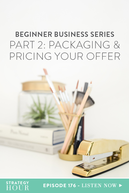 Welcome to the second part of our Beginner Business Series! If you have not checked out the first episode in this series, we highly recommend you do before listening to this golden egg! So now that you are up to date, let's get down to it. Today, we are going to be talking about packaging and pricing your offer. This goes for selling products or services and we will be dealing with specifics as well as general rules during this discussion.  |  The Strategy Hour  |  Think Creative Collective