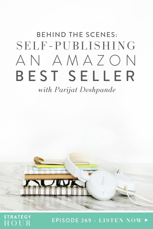 Welcome back to another episode of the Strategy Hour Podcast with your favorite business sisters! We have a great episode in store for you today in which we will be talking to our friend Parijat Deshpande about her experiences self publishing an Amazon bestseller. Parijat is a high risk pregnancy expert and decided to turn her work and wisdom into a book called Pregnancy Brain, which has quickly become a hit and is selling fast since it was published!  |  The Strategy Hour  | Think Creative Collective