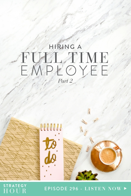 Welcome back to the show, everyone! As promised we are doing the second part of our segment on hiring a full-time employee. So if you haven't listened to part one yet, we recommend you go catch up on that, ASAP! In that episode, we covered the application process, defining the role, finding and vetting candidates. Today we are diving straight on into the interview and onboarding process.  |  The Strategy Hour  |  Think Creative Collective
