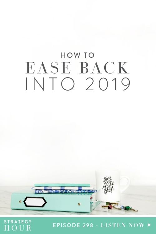 Hello everyone, and welcome back to another episode! Today we talking about getting back into the swing of things in the new year. We will mostly be talking about our own experiences getting into work-mode after the nice holiday break we had over December. It is quite a personal episode, but we are pretty sure a lot of you out there will be able to relate!  |  The Strategy Hour  |  Think Creative Collective