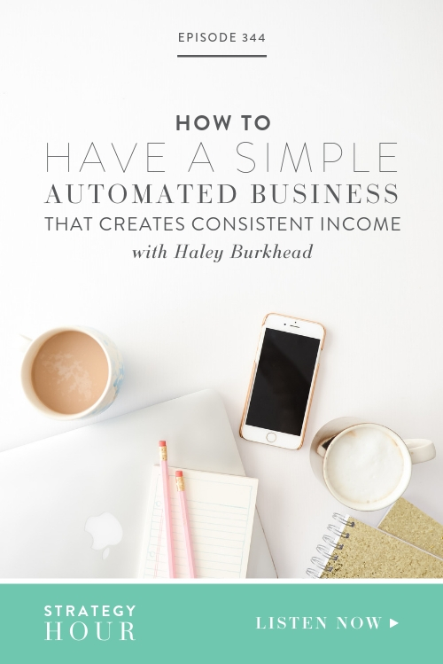 Haley Burkhead is here to tell you all about how to make your business more profitable through automation and what she calls the scalability factor. Haley is our go to texting buddy for all things business and we are basically texting best buds at this point! We are able to help each other out so much in times of need so we hope what she has to say on the show today will help you too!  |  The Strategy Hour  |Boss Project