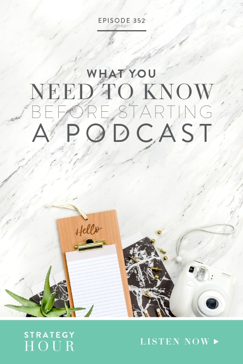 We've previously done an episode about what you need to consider before starting a podcast, and we admit that it was a bit of a Debbie Downer, so today we want to do a follow up of that where we go over some of the things we've learned in the meantime. We talk about the reasons for starting a podcast and about everything you should have set up before you can start, including deciding on the extent to which you will be involved and the equipment you will need to record and where to find it.   |  The Strategy Hour  |  Boss Project