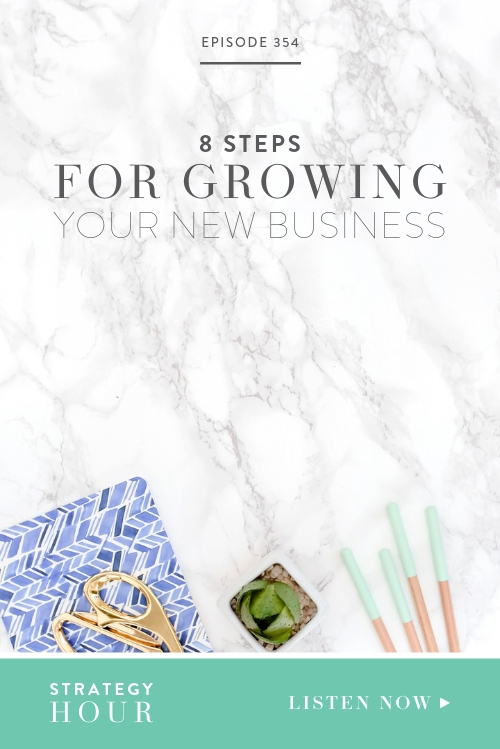 """On today's show, we will be answering our most frequently asked question: """"How did you get from point A to point B?"""" We will be sharing what to do, when to do it and how to do it all in your first two years of business. These steps got us from zero dollars to nearly half a million dollars and we want to give you a step-by-step breakdown of everything we did along the way.  