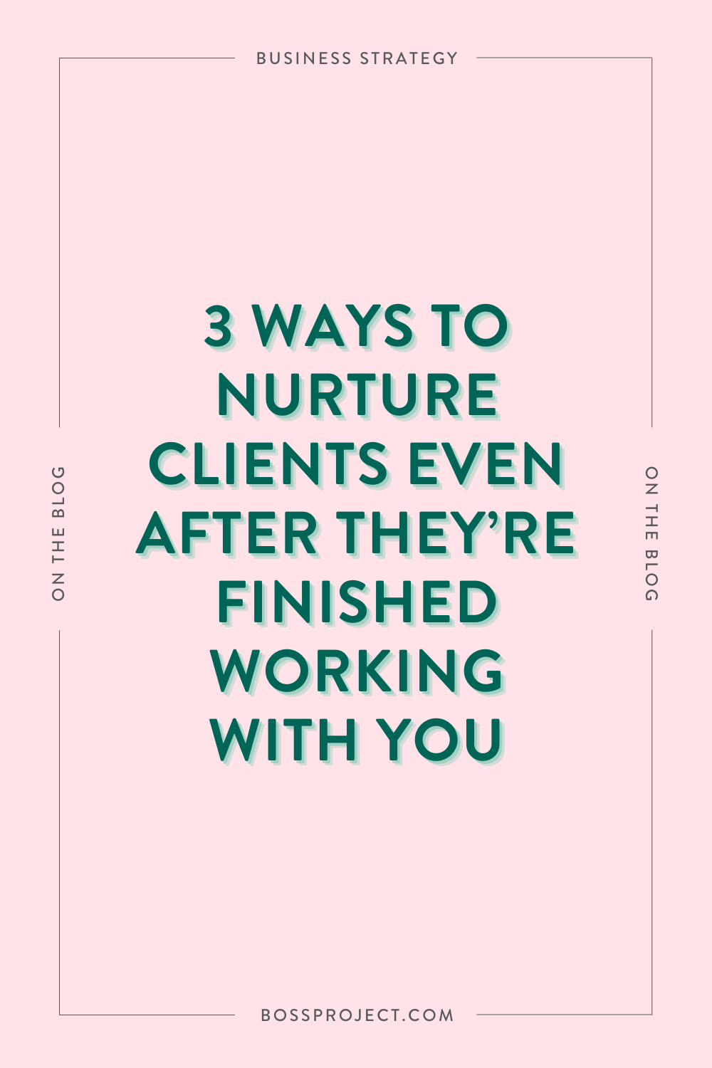 Your client experience doesn't just span from the first interaction to when you start working with them. It also includes your off boarding process and how you treat them once they've finished working with you. But how can you still nurture these re…