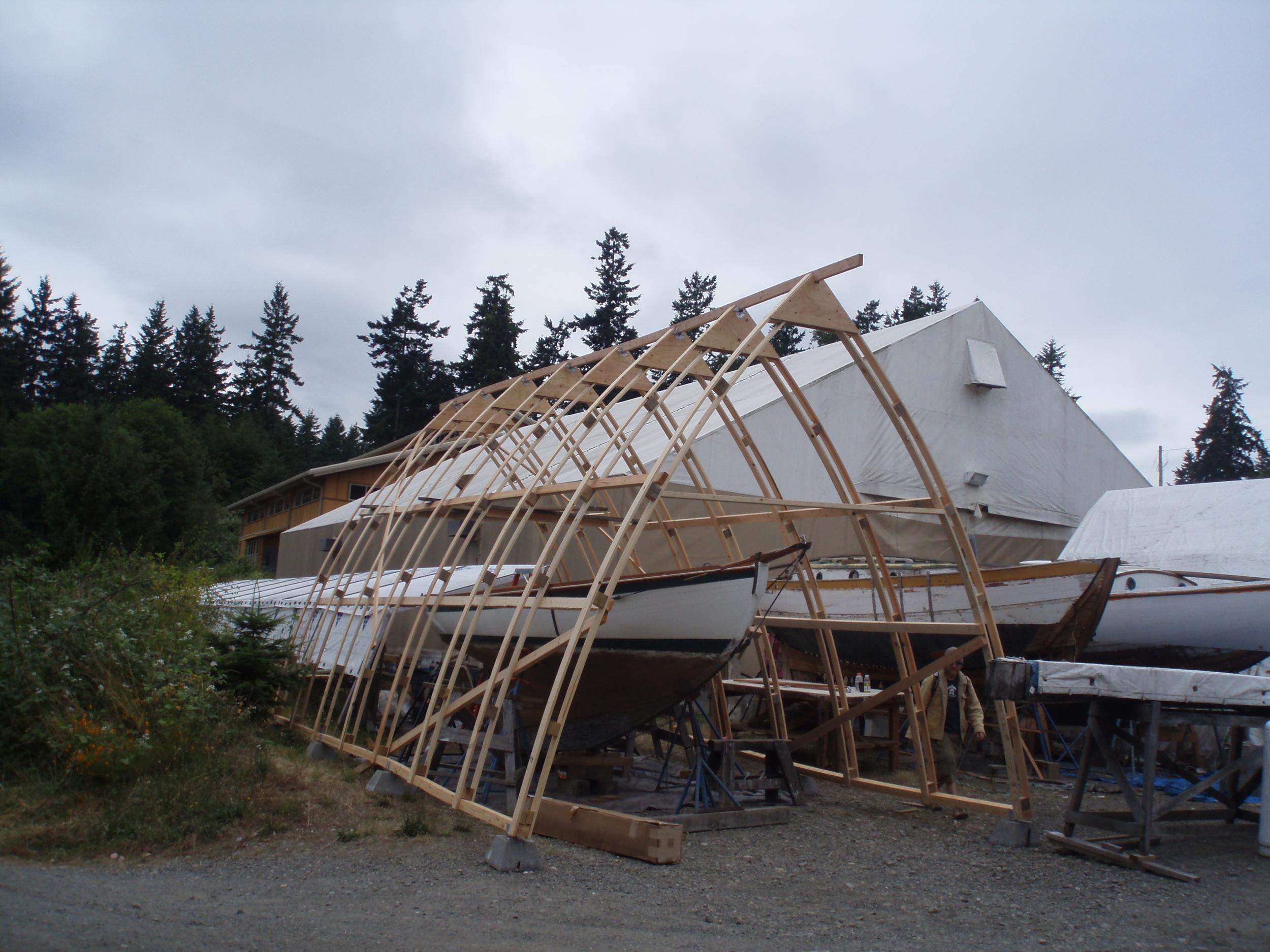 bowshed frame