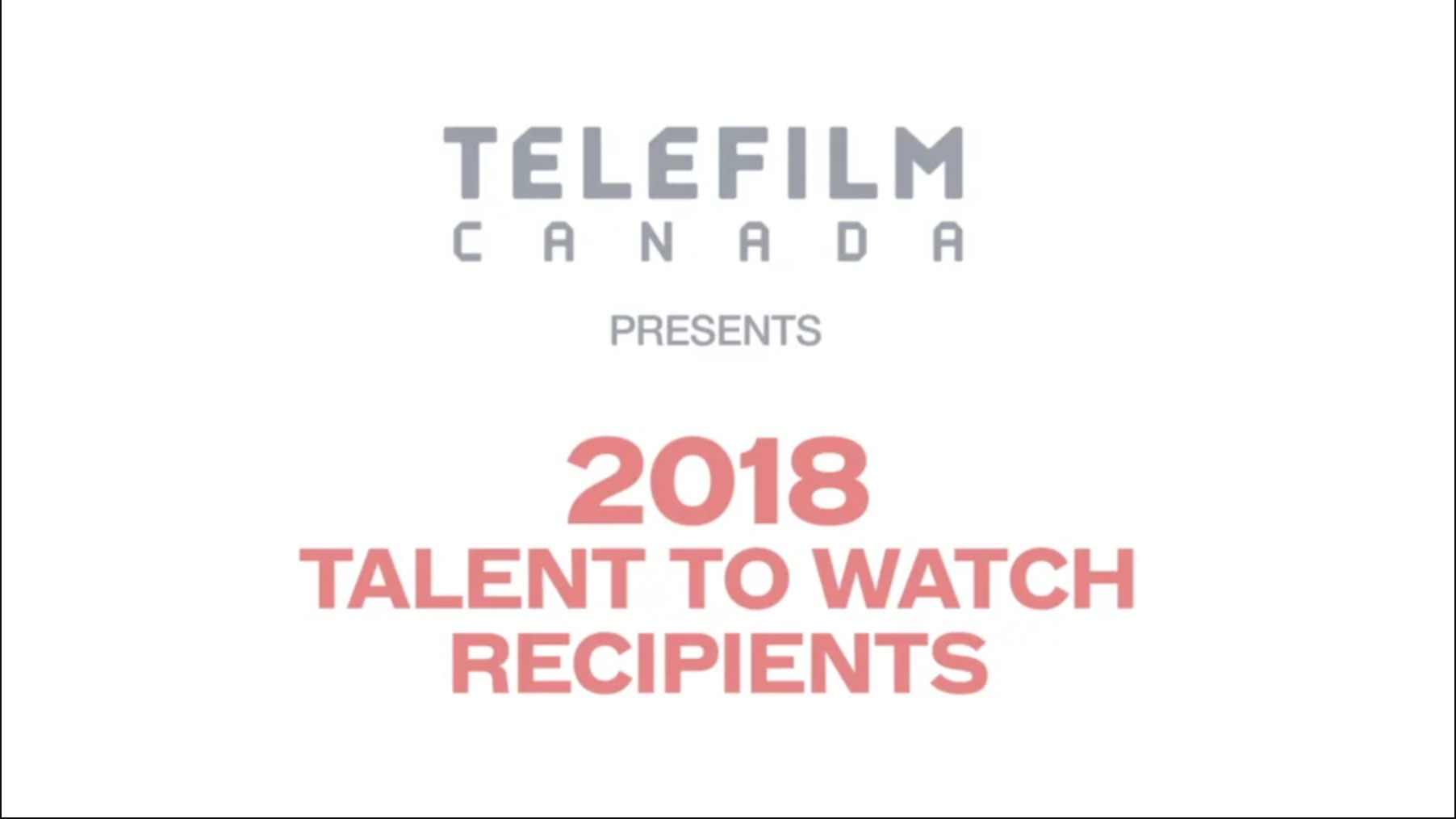 Karen Harnisch was part of the five-member jury that selected the English-language project for the Telefilm Canada Talent to Watch program