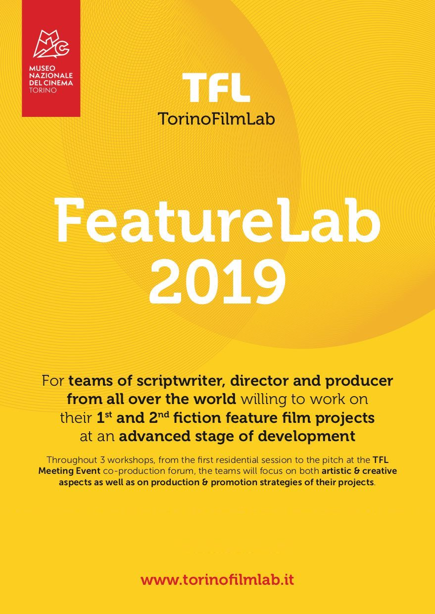 MIZERIA (dir: Eva Michon, prod: Karen Harnisch) was selected for the TorinoFilmLab's 2019 FeatureLab Training Programme.