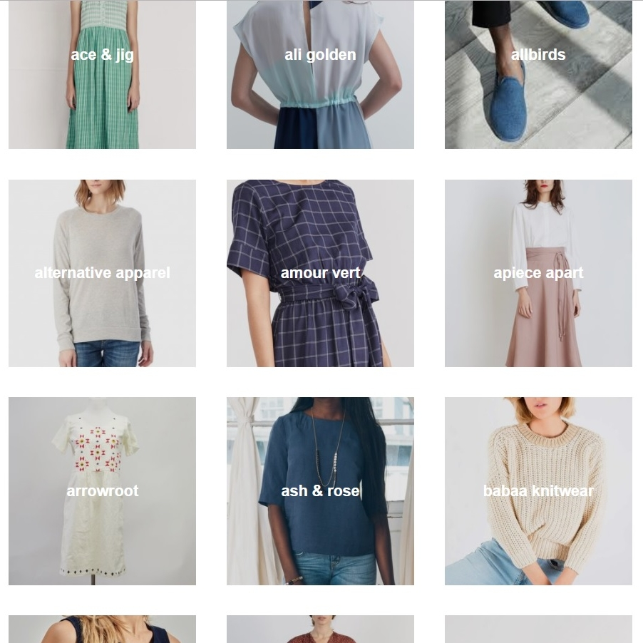 ETHICAL FASHION | SHOP DIRECTORY