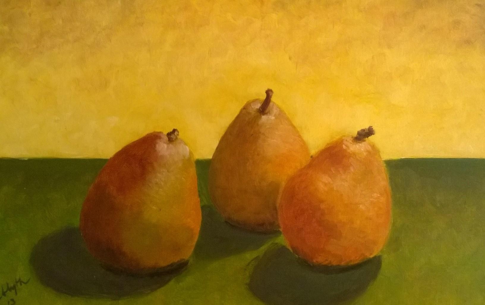 Three Happy Pears
