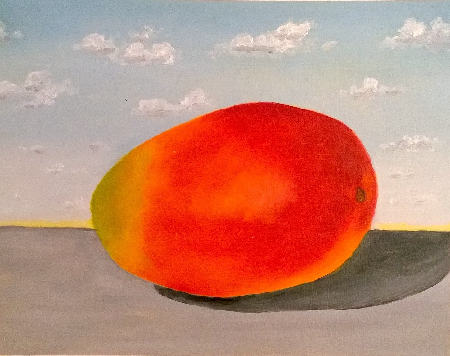 Mango with Clouds