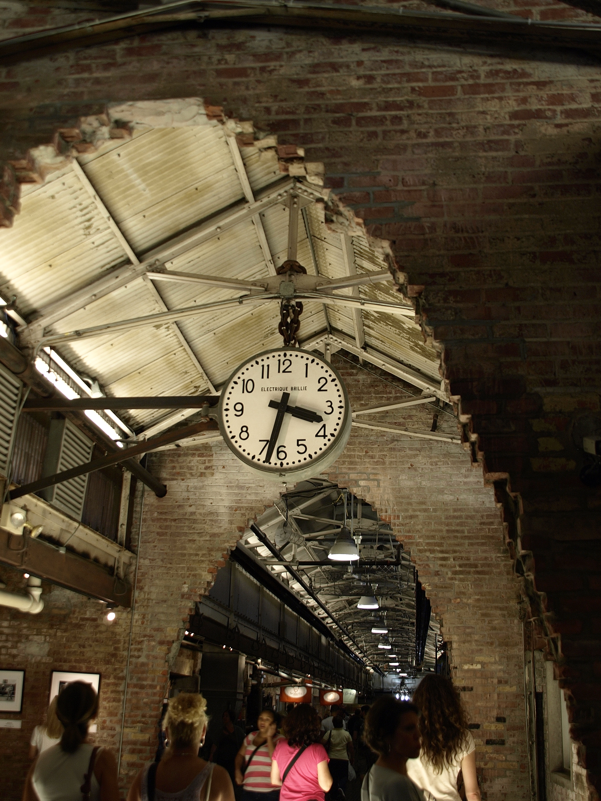 Clock in Chelsea Market