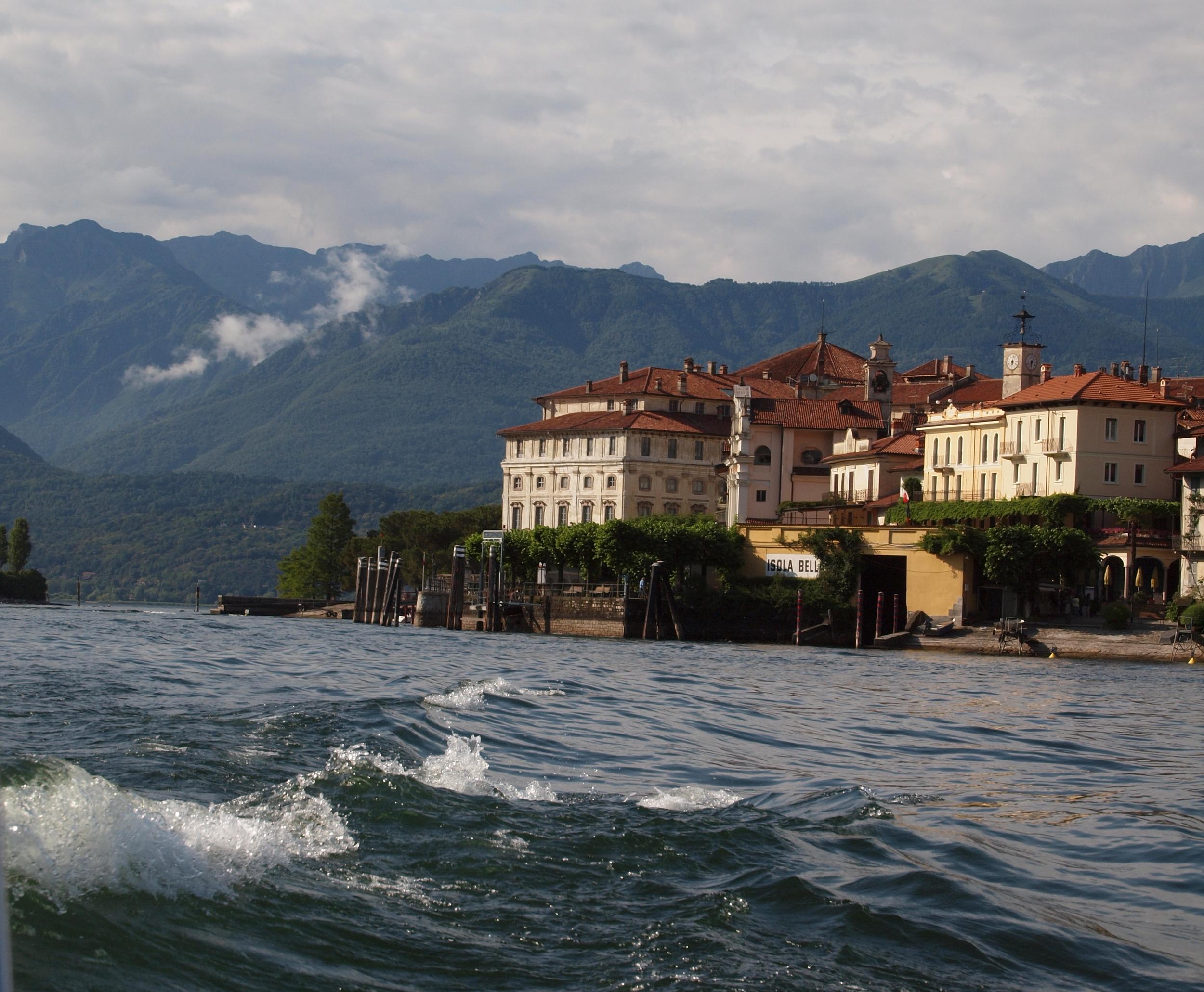 Isola Bella in Italy