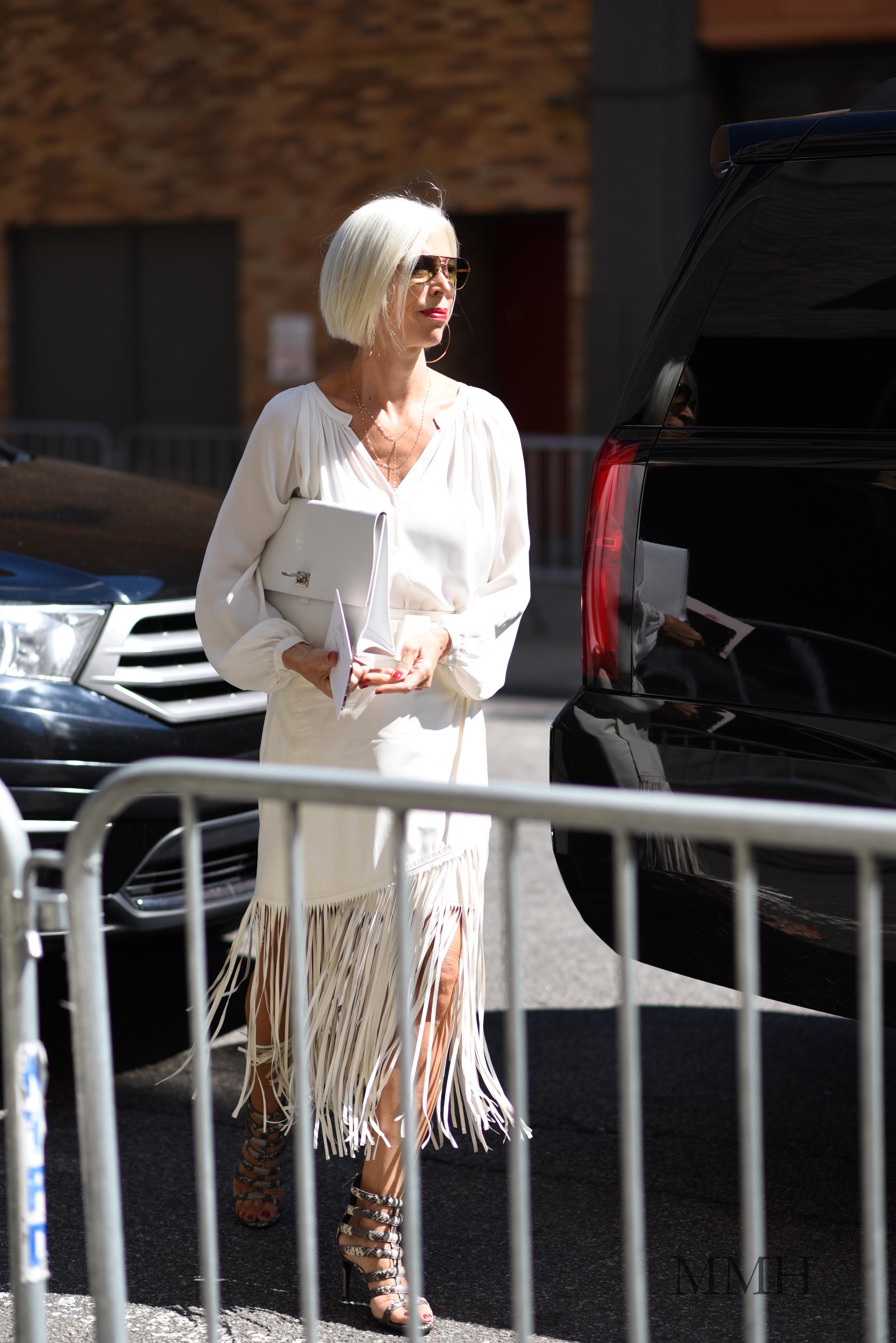 Linda Fargo, Senior Vice President of the Fashion Office at Bergdorf Goodman