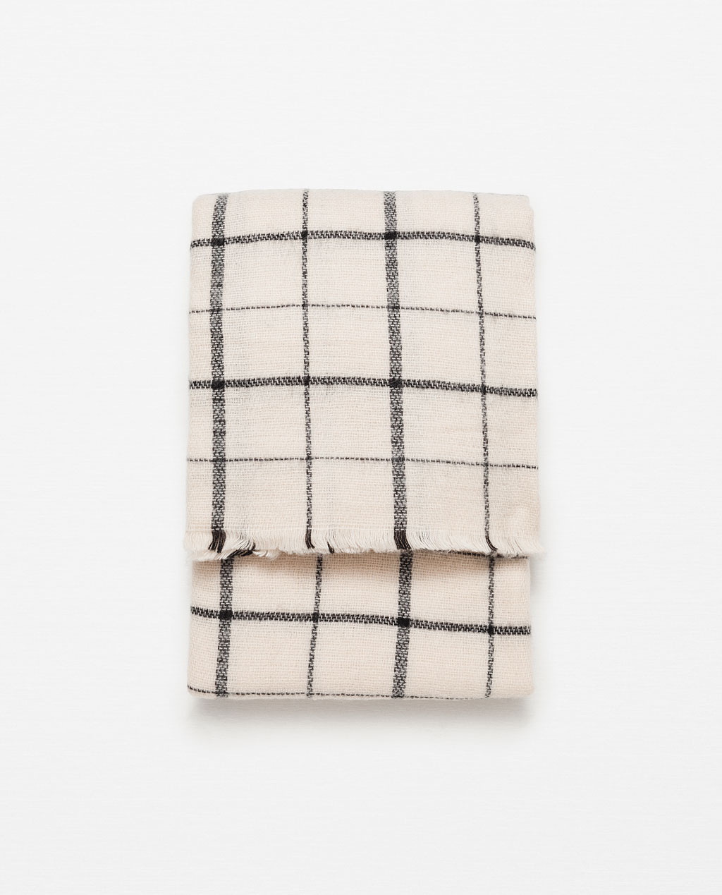 Zara Soft Check Scarf