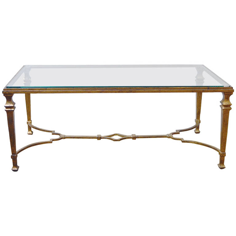 Maison Ramsay  Gilded Iron Cocktail Table $12,500