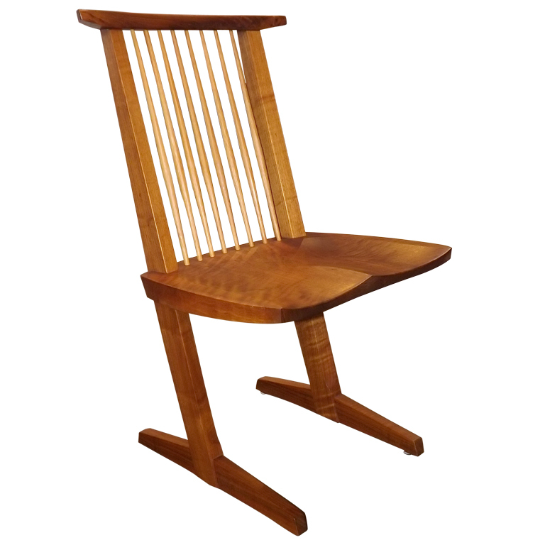 "George Nakashima  ""Conoid"" Chair $12,500"