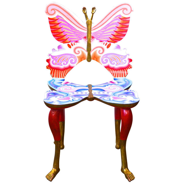 "Pedro Friedeberg  ""Butterfly"" Chair $17,500"