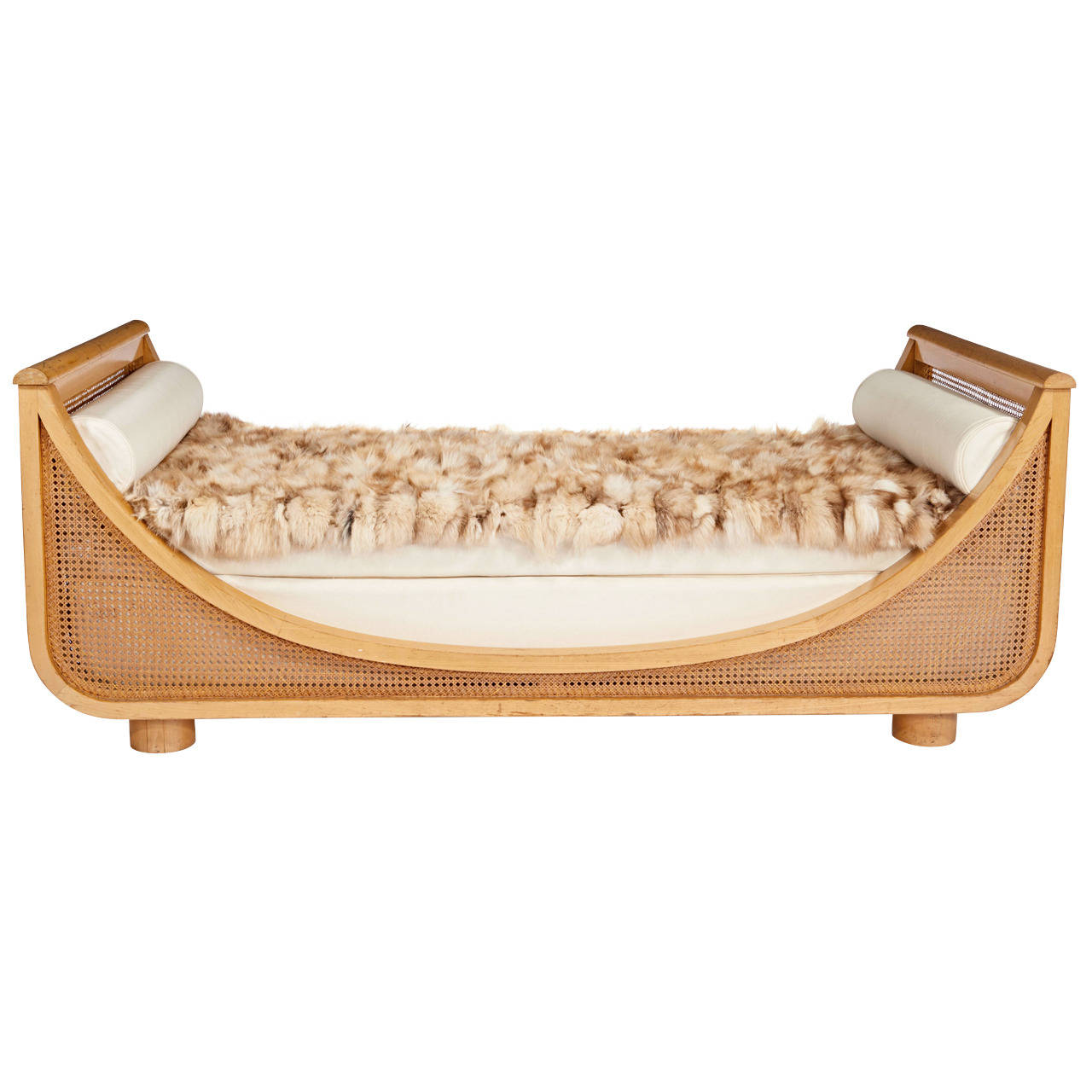 "Jean Royère  ""Gondola"" Daybed $75,000"