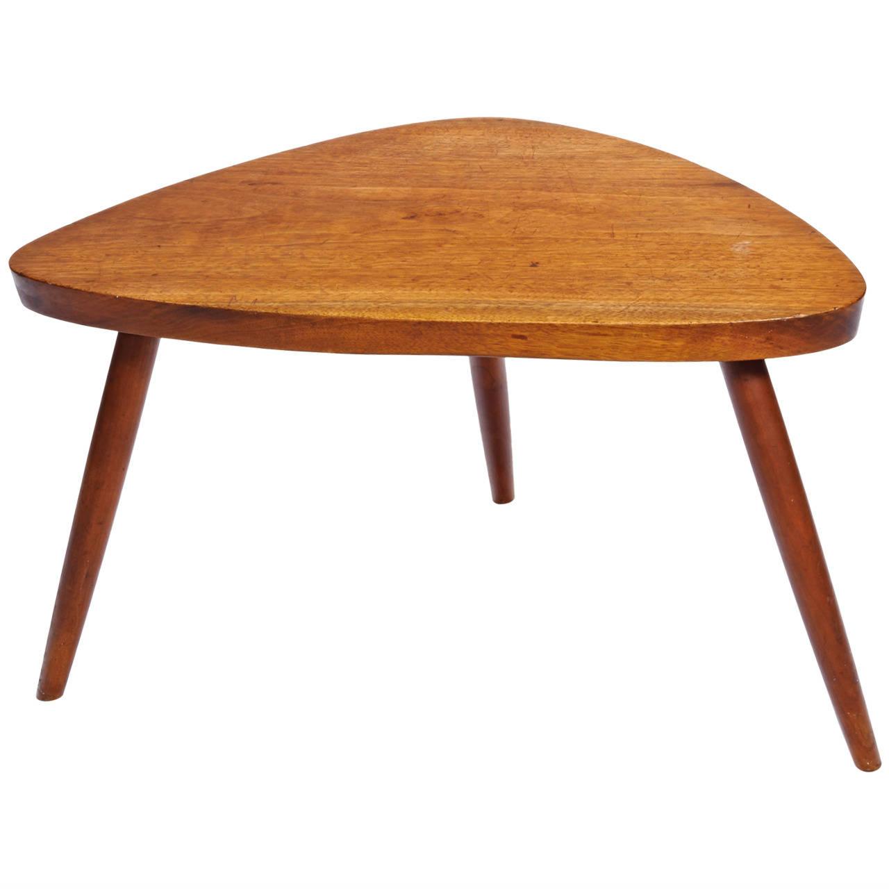 George Nakashima  Cherry Occasional Table POR