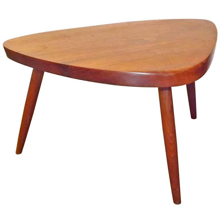 George Nakashima  Small Tri-Leg Table $4,500