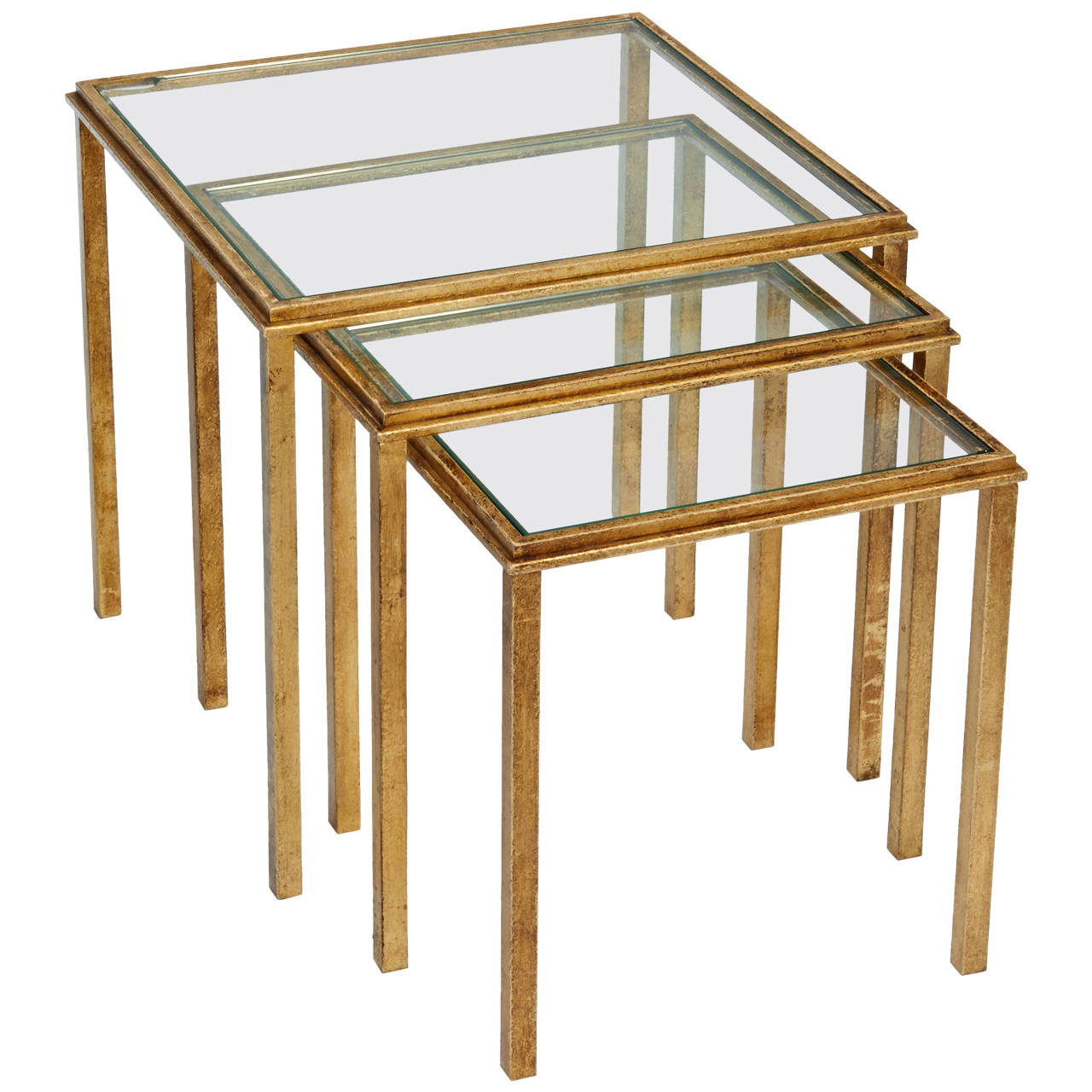 Roger Thibier  Nesting Tables $7,500