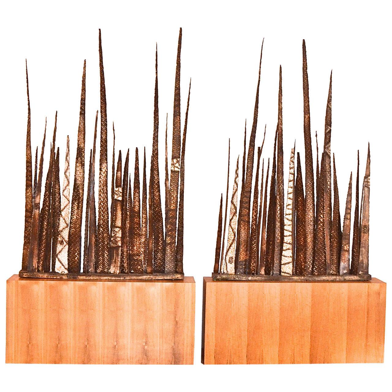 Paul Evans  Stalagmite Floor Sculptures $125,000