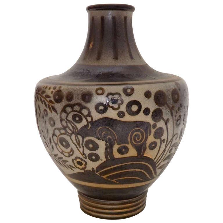 Perudecere et Girault for Primavera  Massive Vase $15,000