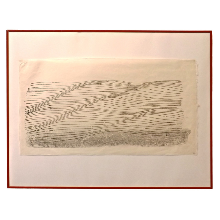 Harry Bertoia  Monotype - Sound Wave $3,400