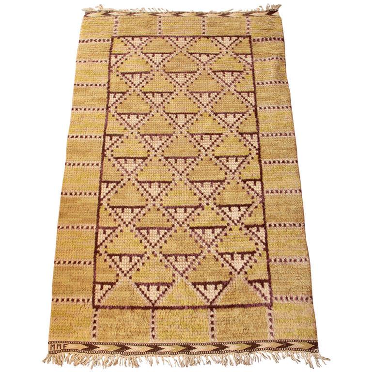 Marta Mass Fjetterstrom  Woven Carpet $15,000