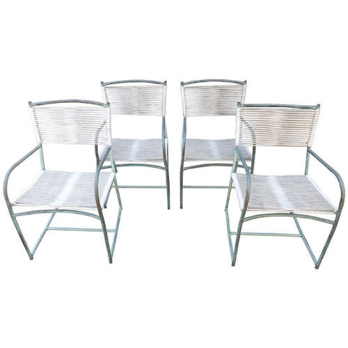 Walter Lamb  Early Armchairs, Set of 4 $6,000