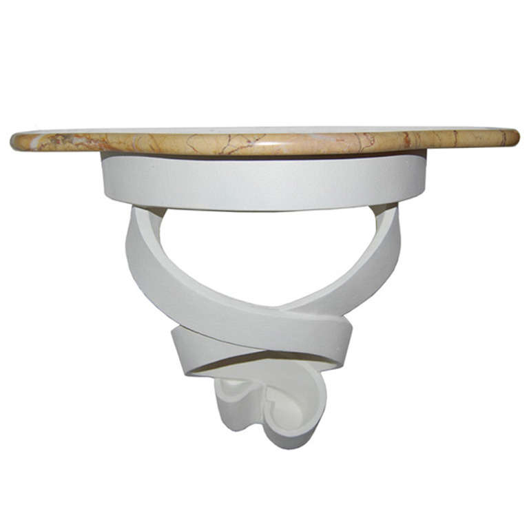 Francisque Chaleyssin   Wall-Mounted Plaster Console $9,500
