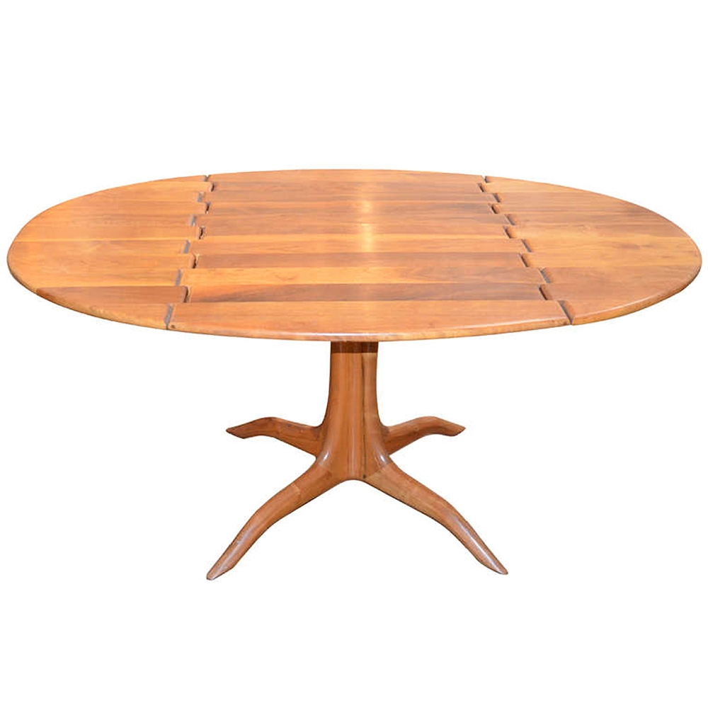 Sam Maloof  Spider Leg Drop-leaf Table $55,000