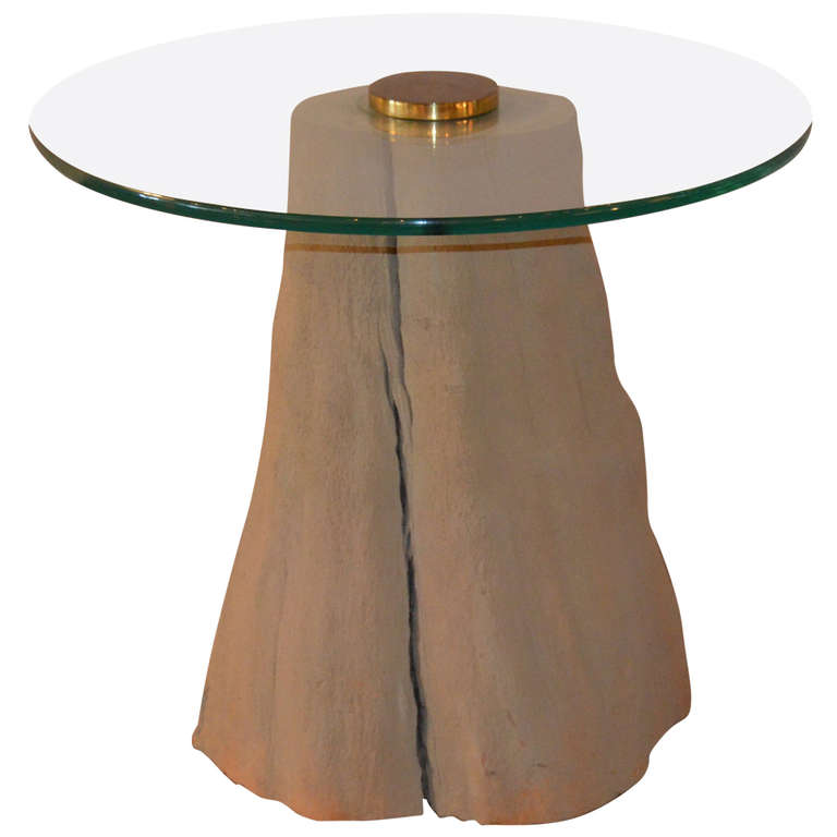 Michael Taylor  Driftwood Occasional Table $1,800